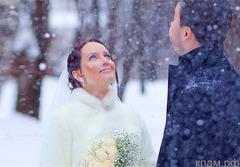 Свадьба - зимой в Томске