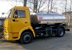 Доставка воды от 4 куб. для бытовых нужд в Москве. Услуги водовоза.